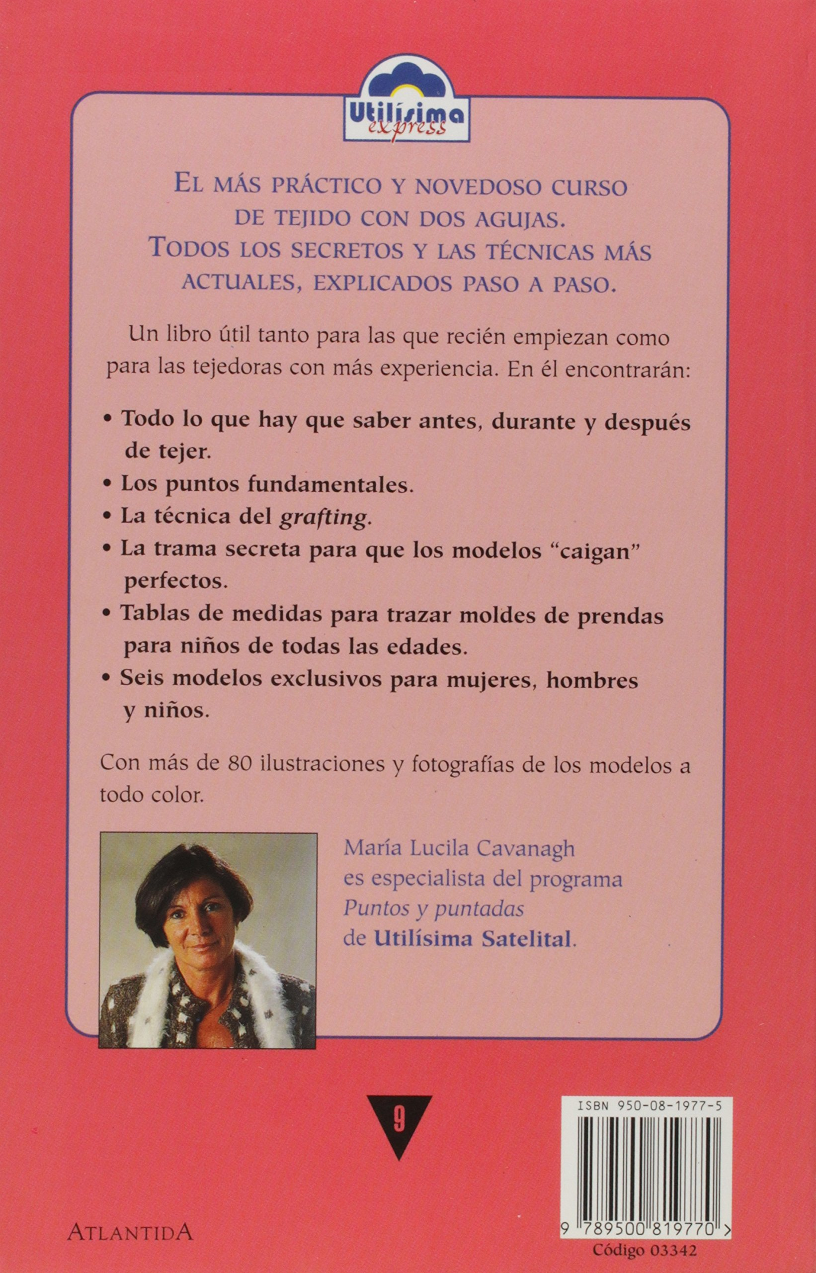Curso práctico de tejido: Maria Lucila Cavanagh: 9789500819770: Amazon.com: Books