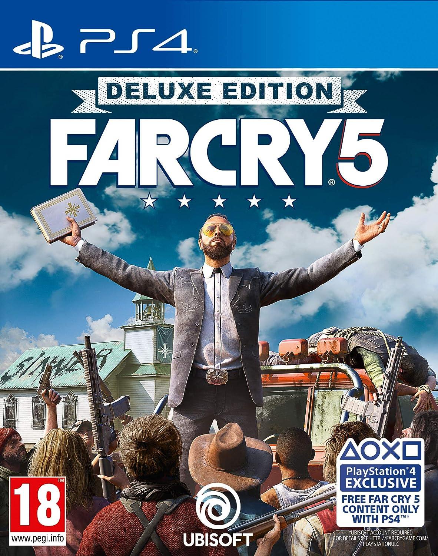 Far Cry 5 Deluxe Edition PS4 Juego: Amazon.es: Videojuegos