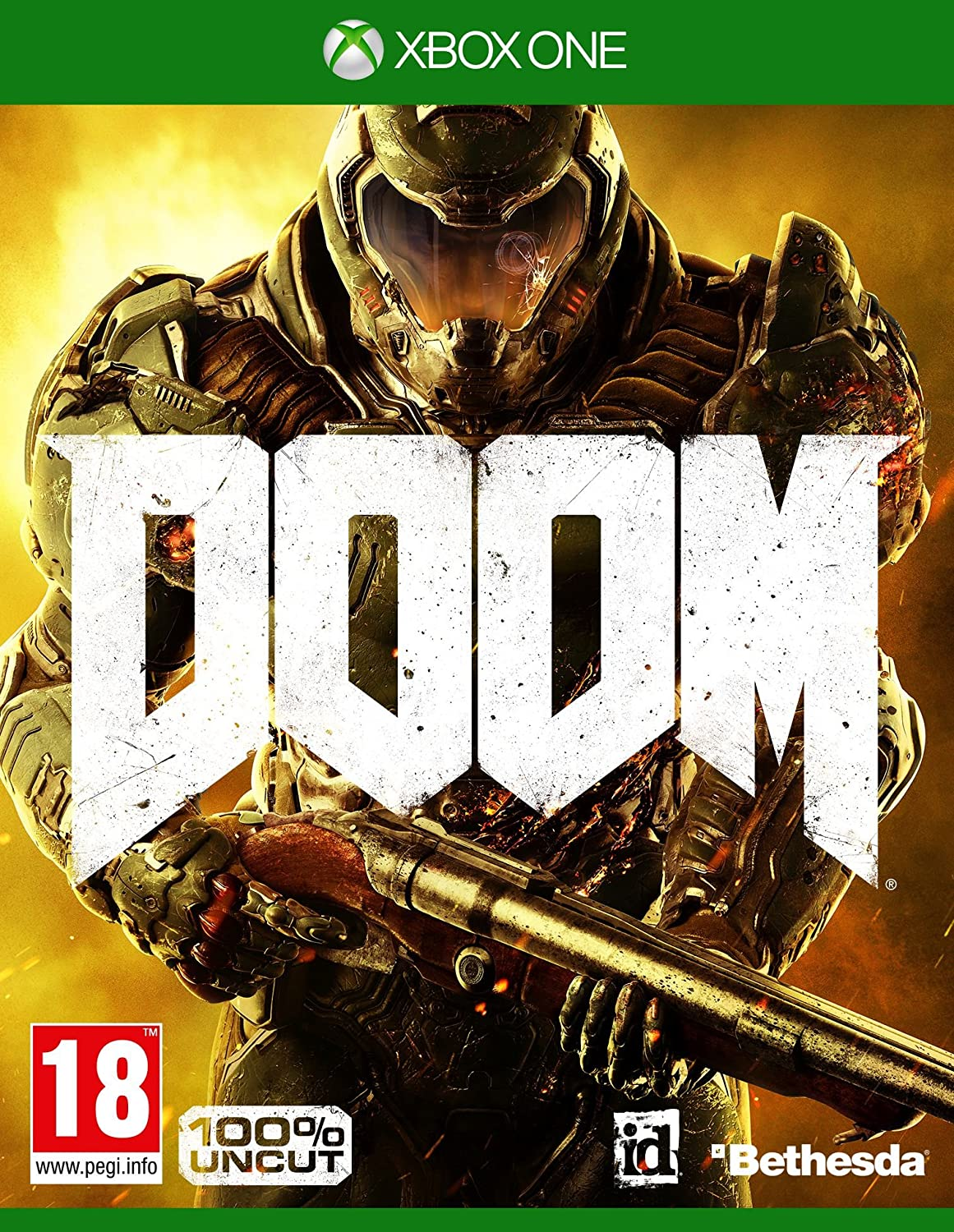 Doom - 100% Uncut - Day One Edition [At-Pegi] [Importación Alemana ...