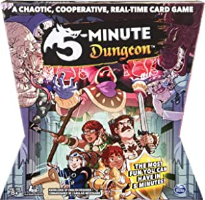 Spin Master 5 Minute Dungeon Card Game