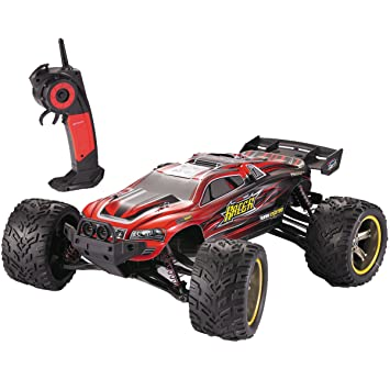 9a50c18a1 Buy AMOSTING RC Cars Remote Control Truck S912 High Speed Off-Road 33MPH  1 12 Scale Full Proportional 2.4Ghz 2WD Electric Cars - Red Online at Low  Prices in ...