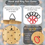 LimeHus Games Ring Toss Game for Adults & Kids