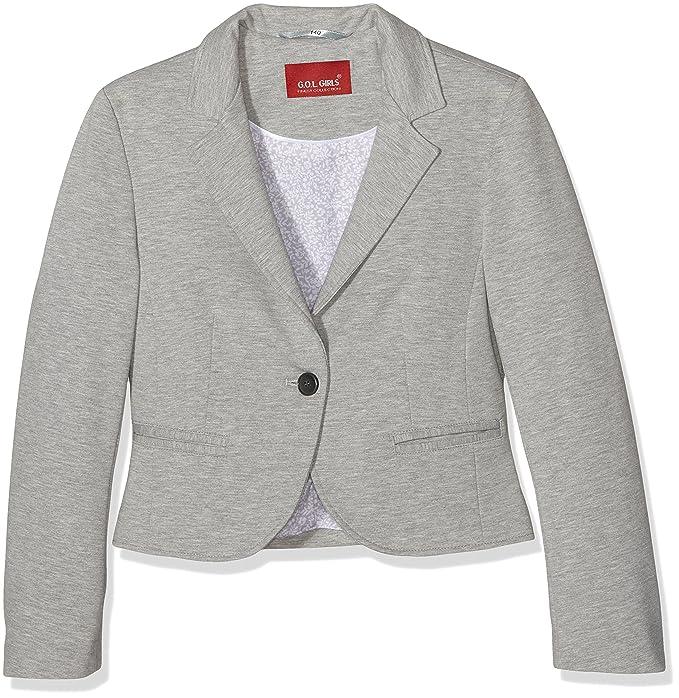 GOL Jersey-Blazer, Regularfit, Americana para Niñas: Amazon.es: Ropa y accesorios