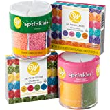 Wilton Gel Food Coloring and Sprinkles Decorating Kit, 10-Piece, Cake Decorating Supplies