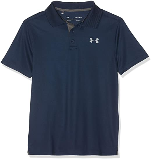 6f4dcdda Amazon.com: Under Armour Boys' Performance Polo (Big Kids): Clothing