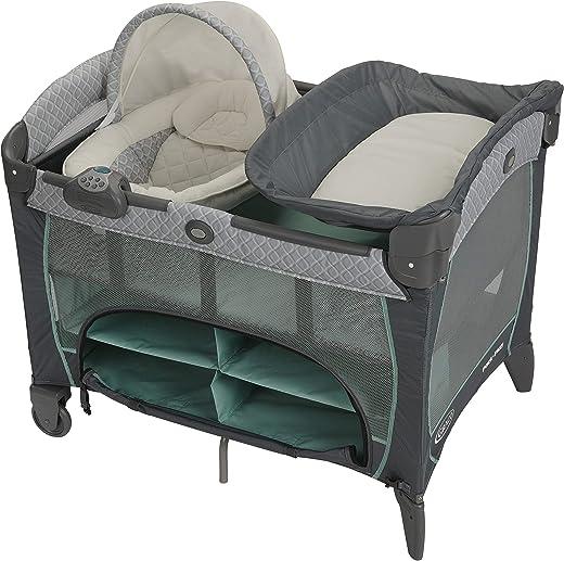 Graco Pack 'n Play Newborn Seat DLX Playard, Manor