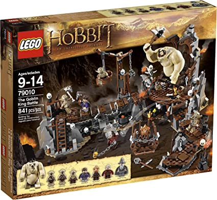 SEALED! LEGO The Hobbit 79010 The Goblin King Battle — BRAND NEW