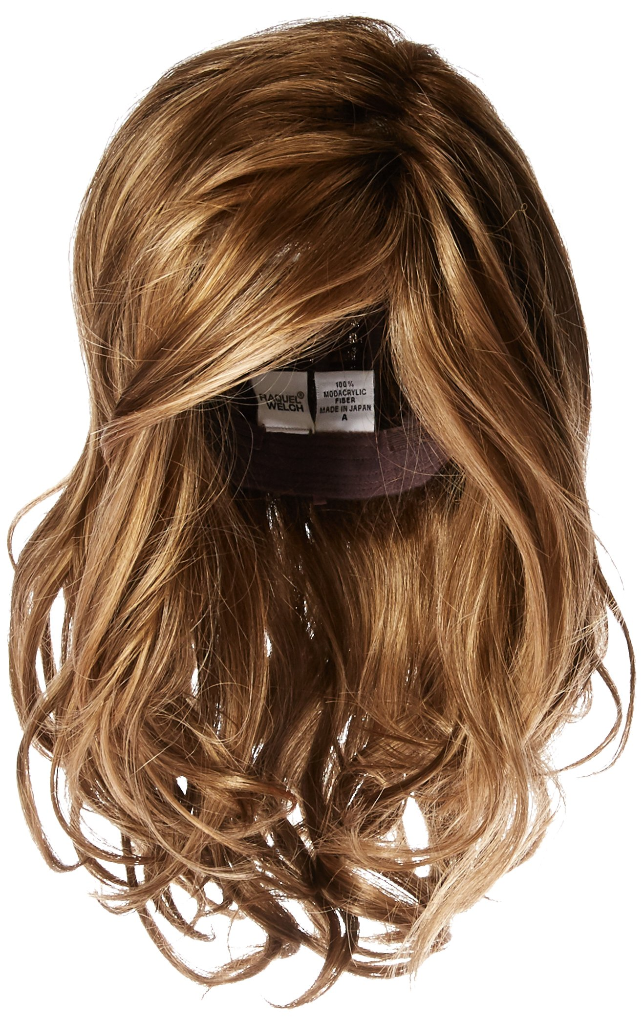 Hairdo Love Love Love Long Full Length Straight Hair With Soft Natural Wave Highlights, ss12/20 Toast by Hairuwear by Hair u wear