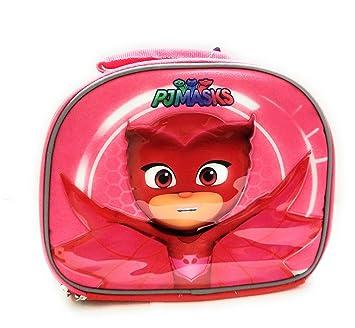 PJ máscaras rojo Owlette suave con aislamiento asa superior fiambrera escuela bolsa térmica