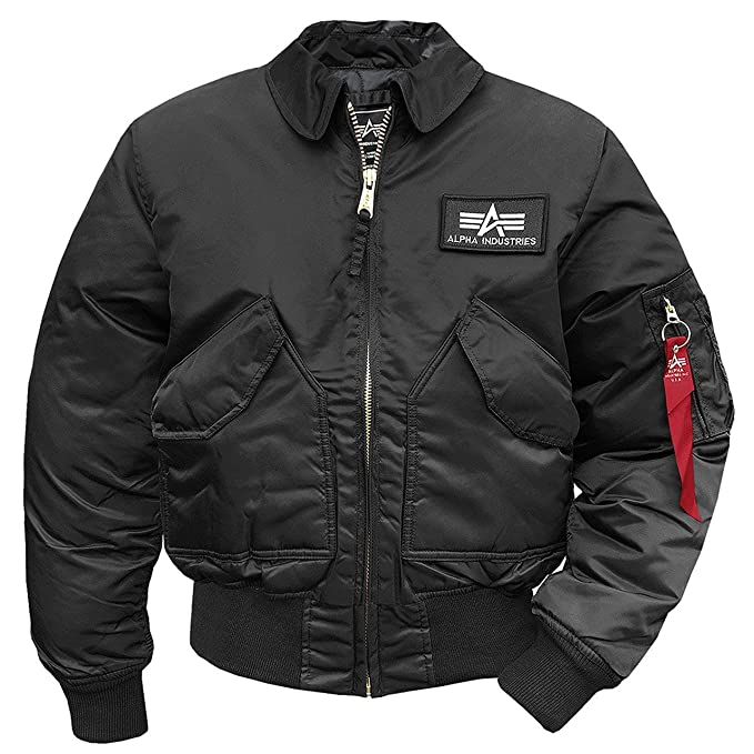 new arrival 9373d 25009 Alpha Industries Giacca Aviatore CWU-45 Giacca: Amazon.it ...