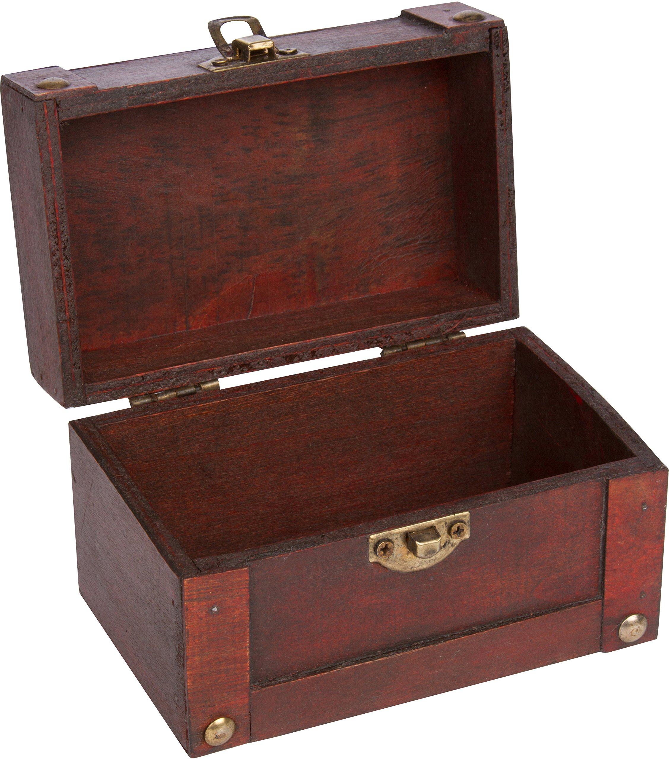 Trademark innovations 5l x 3w small decorative wood treasure chest trademark innovations 5l x 3w small decorative wood treasure chest publicscrutiny Image collections