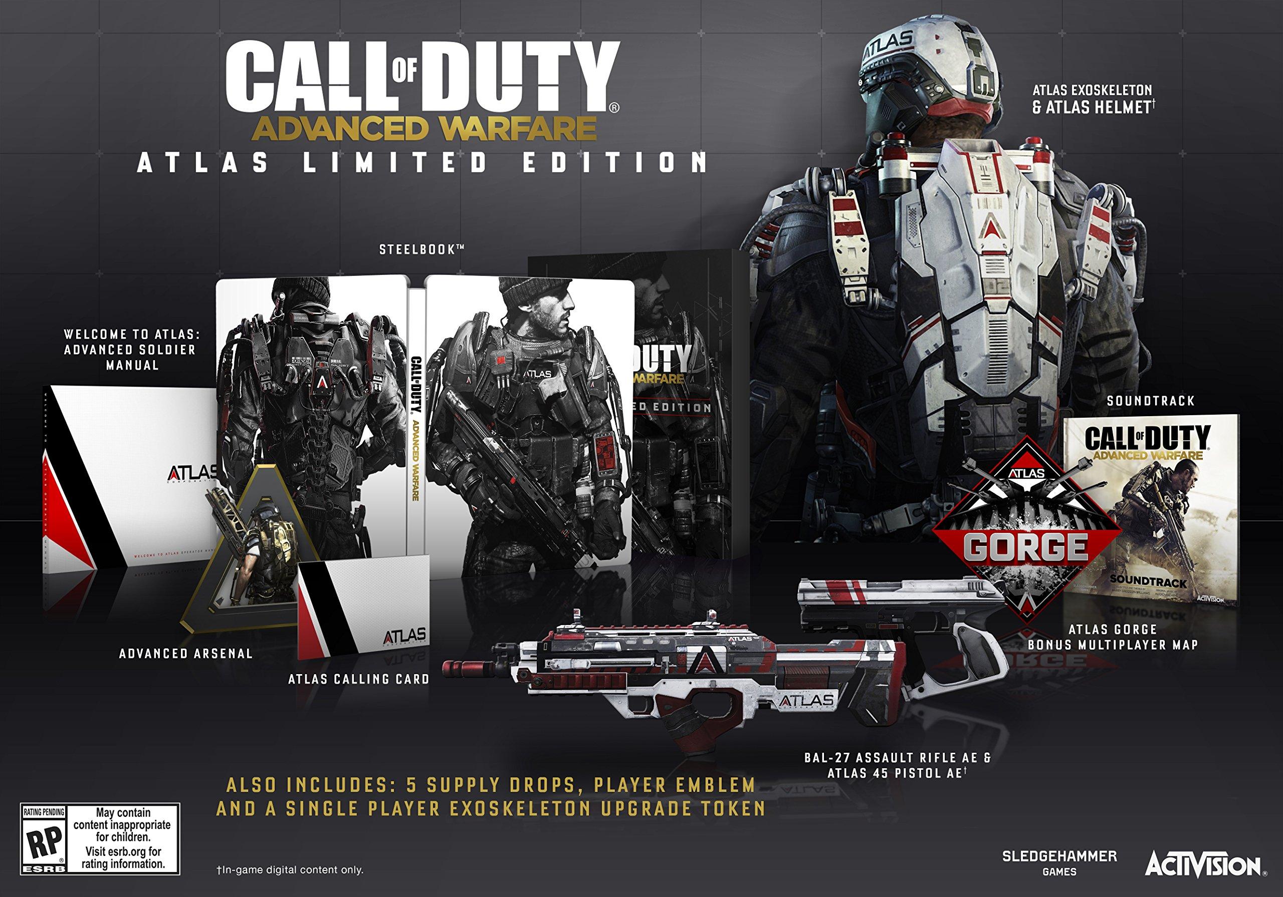 Call of Duty: Advanced Warfare Atlas Edición limitada - PlayStation 4