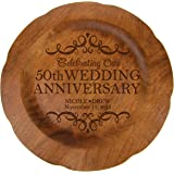 personalized 25th wedding anniversary plate home