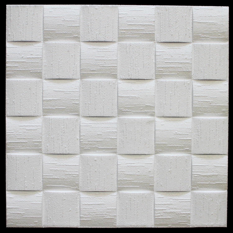 Len Beige 10/M2/pannelli per soffitto parete decorazione dell interno Stuck 50/x 50/cm