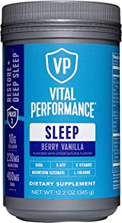 product image for Vital Performance Sleep Berry Vanilla - Natural Sleep Aid with GABA and L-Theanine