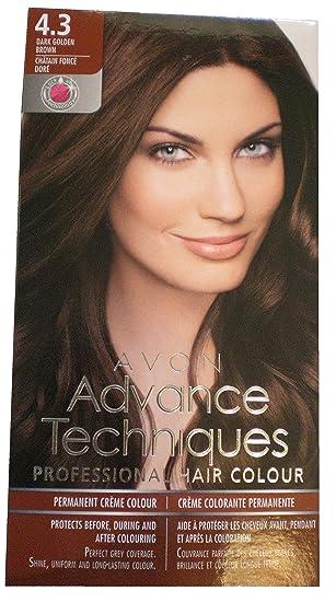 Avon Advance Techniques Professional Hair Colour 4.3 Dark Golden ...