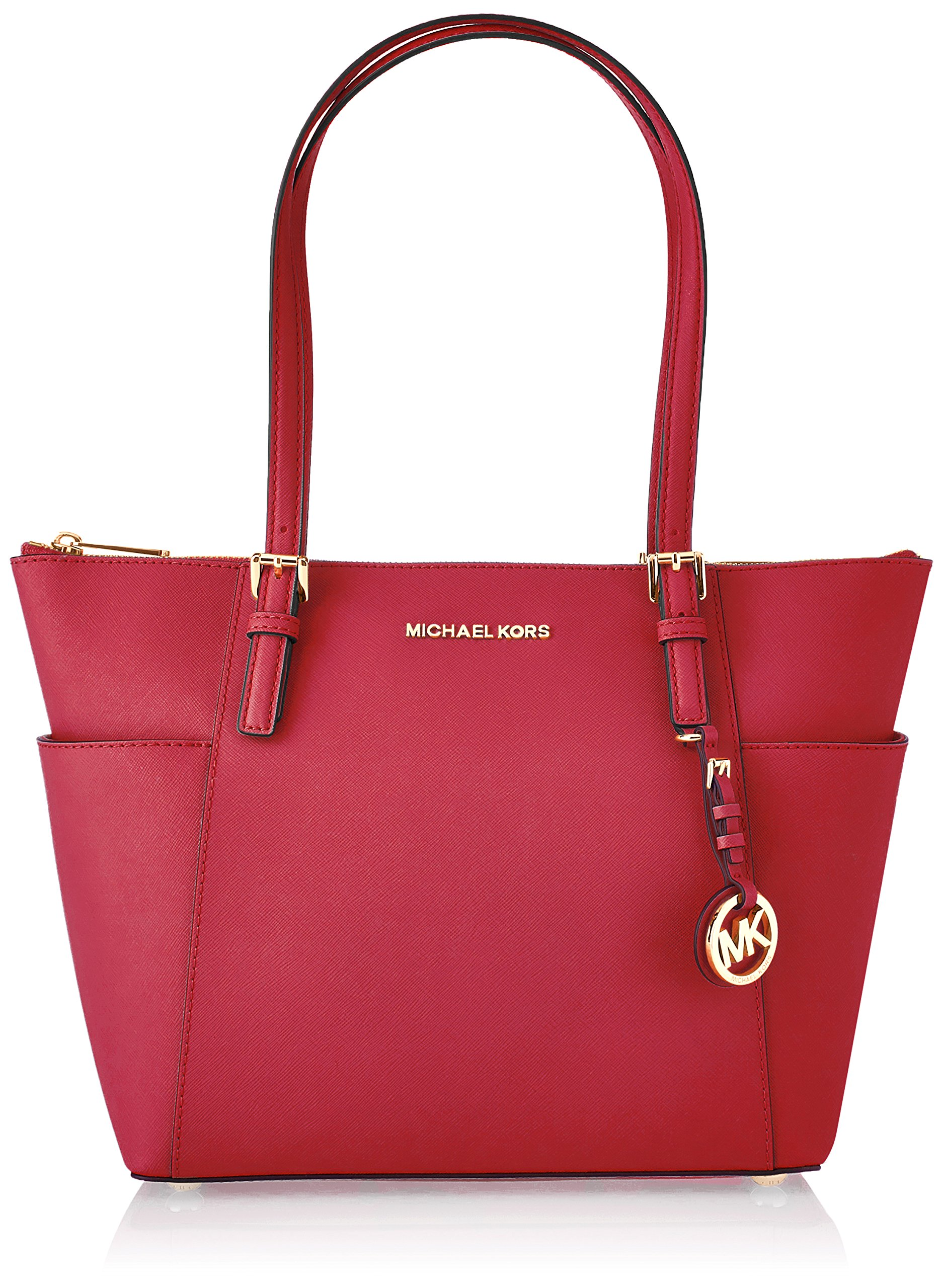 534cd9c28a75e Galleon - Michael Kors Womens Jet Set Item Ew Tz Tote Tote Pink (Ultra Pink)