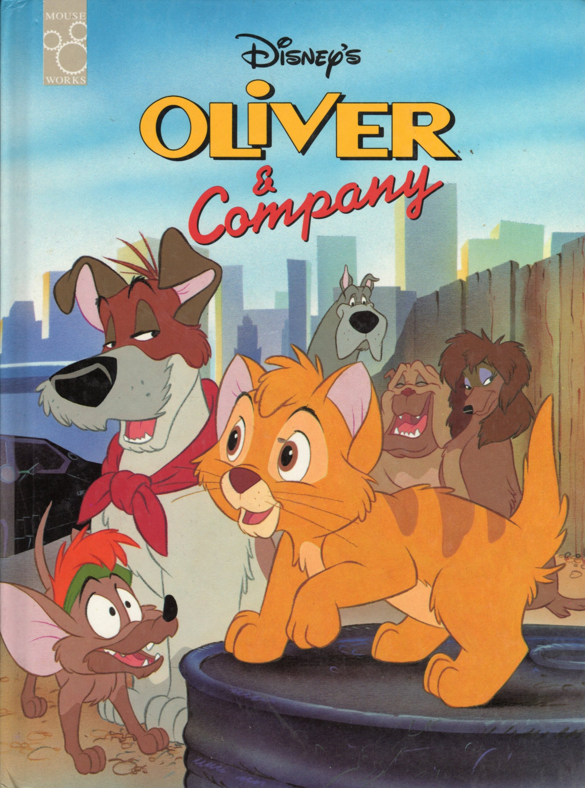 disneys oliver and company mouse works classic storybook .