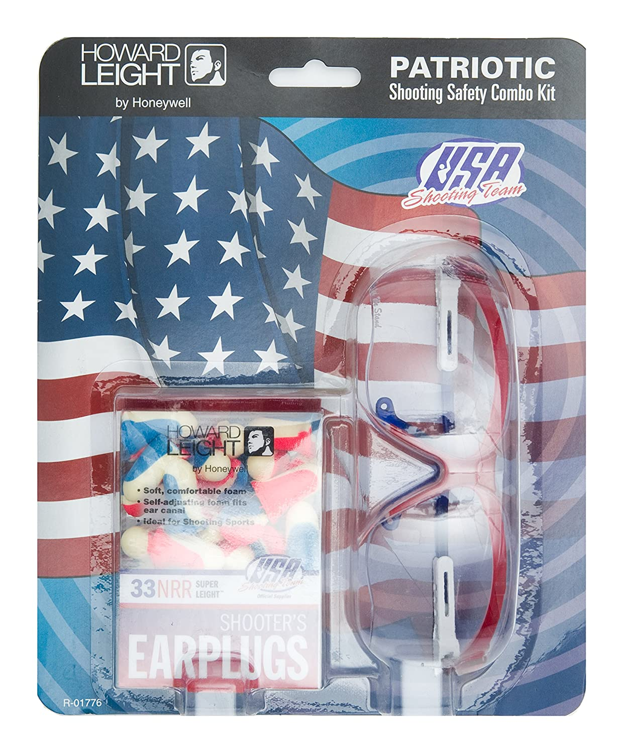 Howard Leight R-01776 Patriotic Kit, Red/White/Blue by Howard Leight  B01IJZ8ZKO