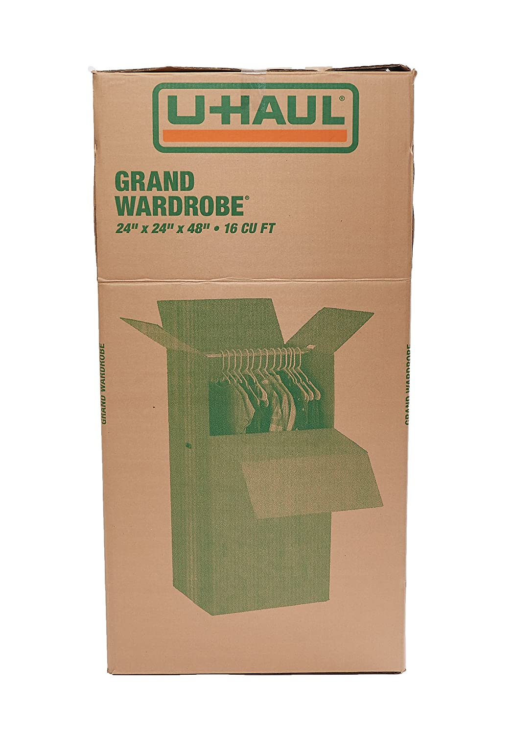 amazon com u haul grand wardrobe moving boxes 24