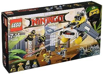 2e3d1f1f3 LEGO Ninjago Movie 70609 Manta Ray Bomber Toy: LEGO: Amazon.co.uk ...