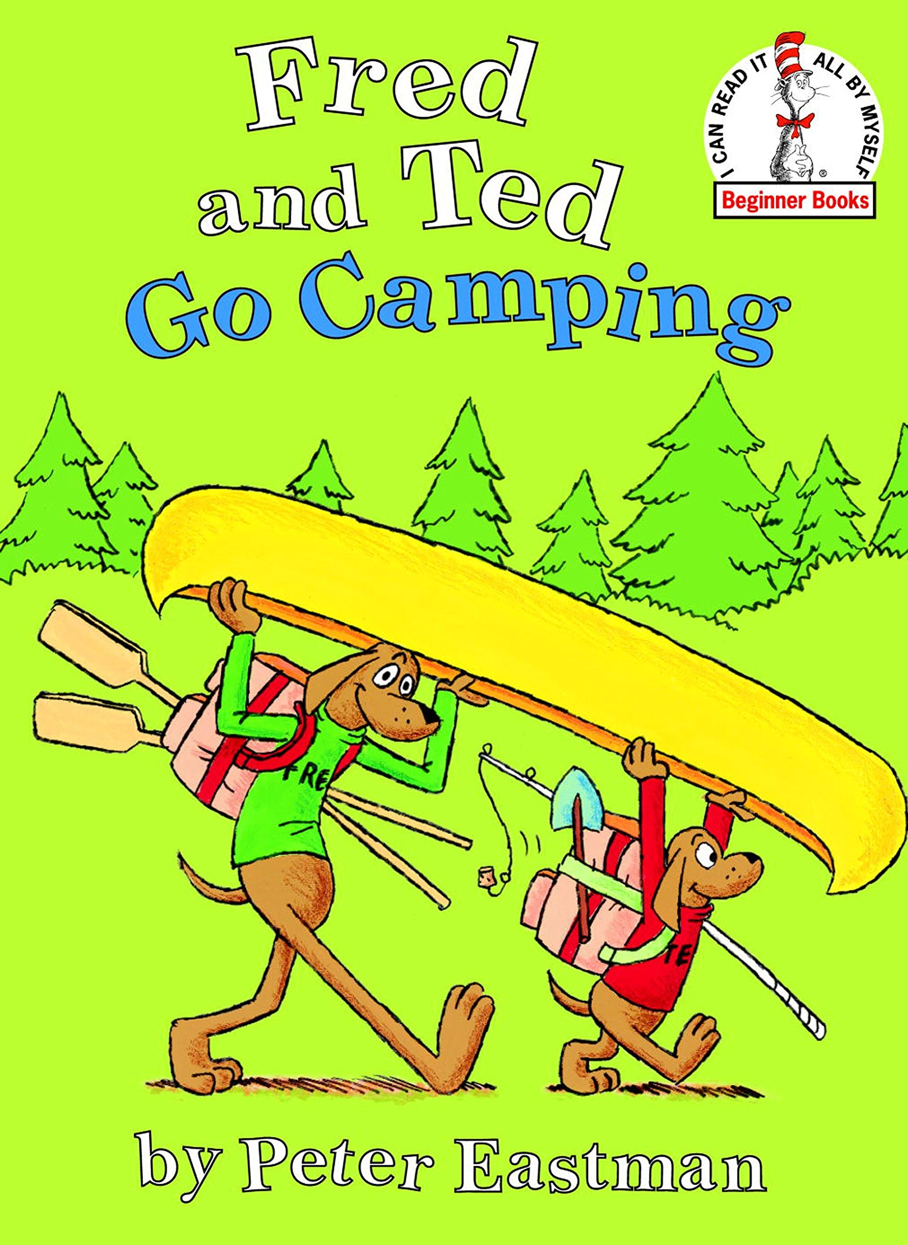 amazon com fred and ted go camping beginner books r