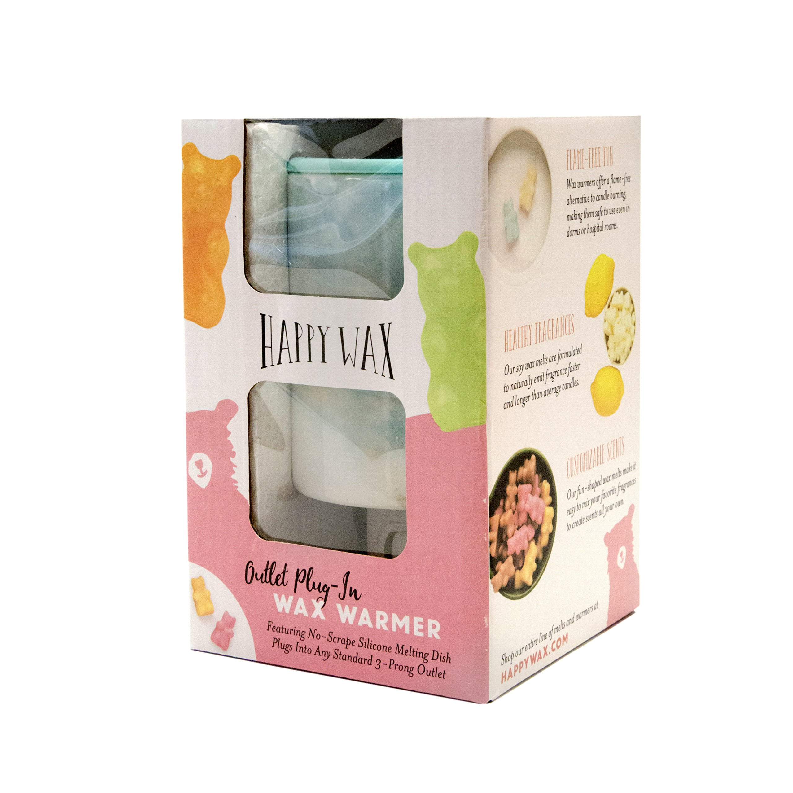 Details about Happy Wax Outlet Wax Melt Warmer for Wax Melts, Tarts Cubes -  Ceramic Wax