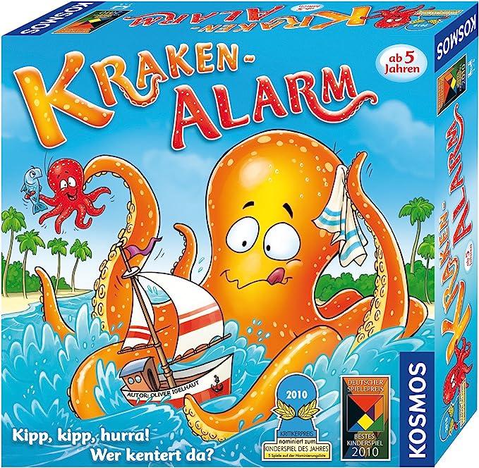 KOSMOS 6802510 Kraken-Alarm - Juego de Mesa Infantil [Importado de Alemania]: Amazon.es: Juguetes y juegos