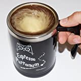 URBANBREW HP Self Stirring Mug, Urbe The Wizard Cat Espresso Purronum, Perfect Gift For Family, Friends, HP Fans