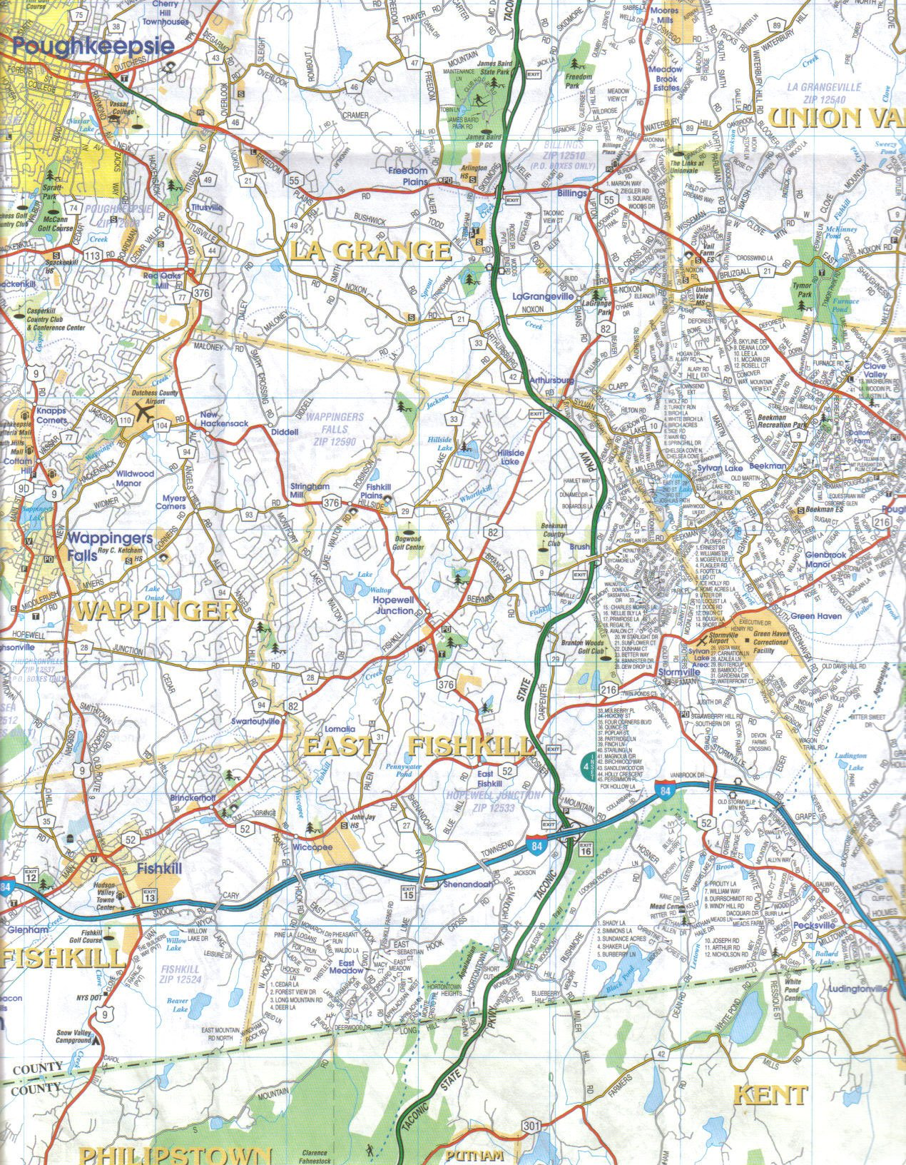 By Jimapco Dutchess County New York Street Road Map [Map ... on litchfield county ct map, cortland county map, greene county map, fairfield county map, town of poughkeepsie map, new castle county map, johnson county map, new york map, westchester county map, brooklyn map, rockland county map, fayette county map, dutchess new york, suffolk county map, schenectady county map, kauai county map, columbia county map, lincoln county map, ny map, orange county map,