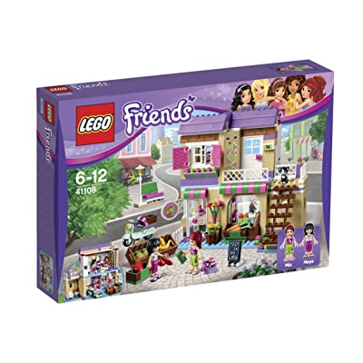 LEGO Friends Heartlake Food Market 41108: Toys & Games