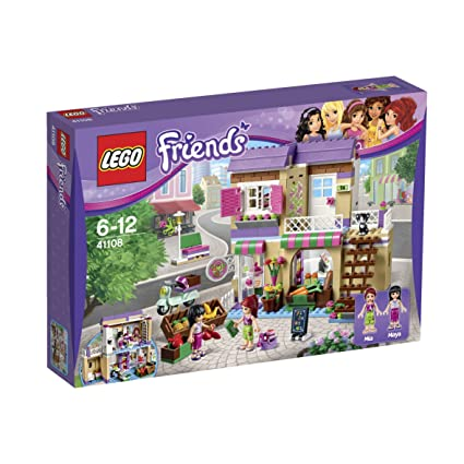 Amazoncom Lego Friends Heartlake Food Market 41108 Toys Games