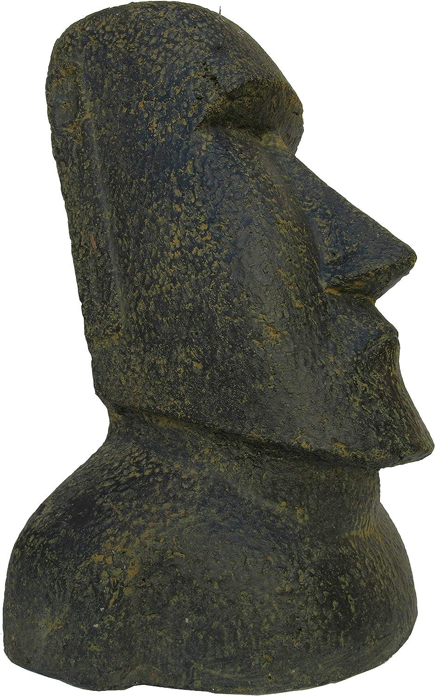 STONE art & more Moai - Figura de Piedra (40 cm, fundición de Piedra, Resistente a heladas): Amazon.es: Jardín