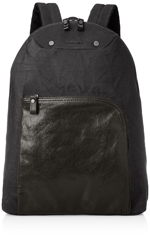 (ディーゼル) DIESEL メンズ バックパック L4MIX L-L4BACK backpack X05223P0054 B0745RSQQ1 UNI (Free)|ダークグレー ダークグレー UNI (Free)