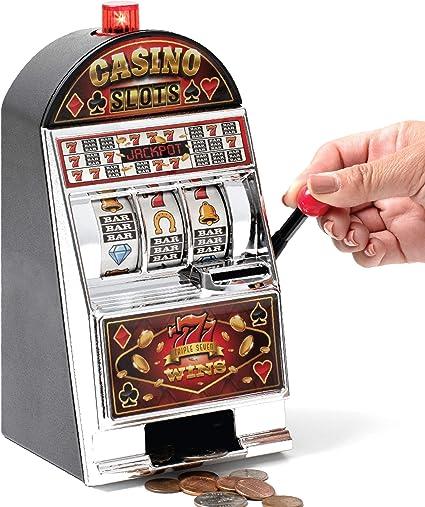 Slot Machine Shaped Piggy Bank