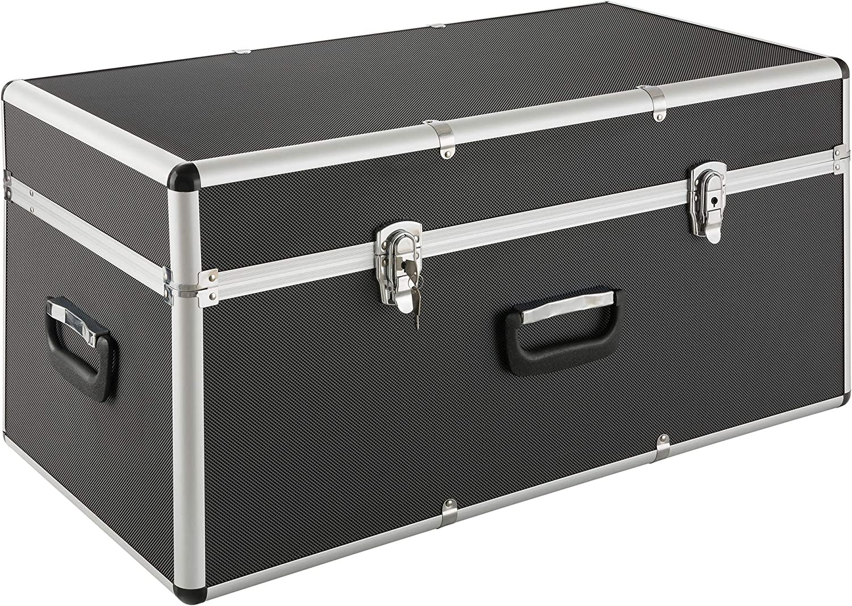 Aluminium box storage trunk box lockable chase box - 100L