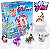 Be Amazing! Toys Snow Pets – Series 1 A Snowy Adventure - Surprise Snow Pals for Kids - Collectible Animal Figurines for…