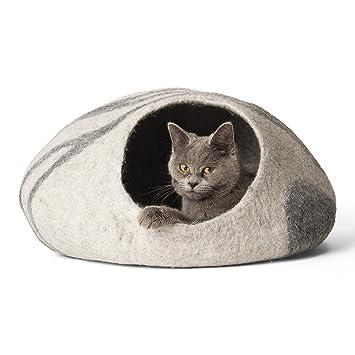 Amazon.com: Cama de doble critters hecha a mano para gatos ...
