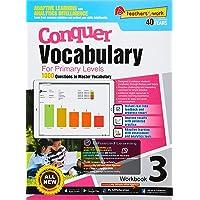 Conquer Vocabulary Workbook 3 for Primary Levels + Nuadu