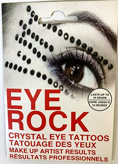 Luxforia eye rock eyeshadow Rhinestone tattoo sticker (4)
