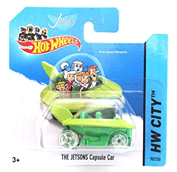 Hot Wheels The Jetsons Capsule Car Toys Games