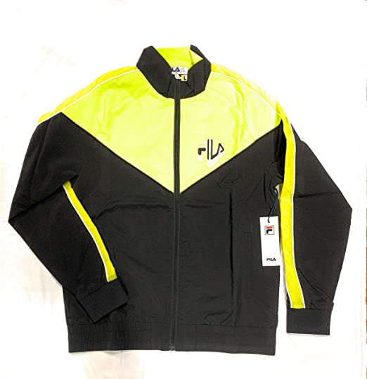Clothing, Shoes & Accessories Mens Fila Track Top Size Small
