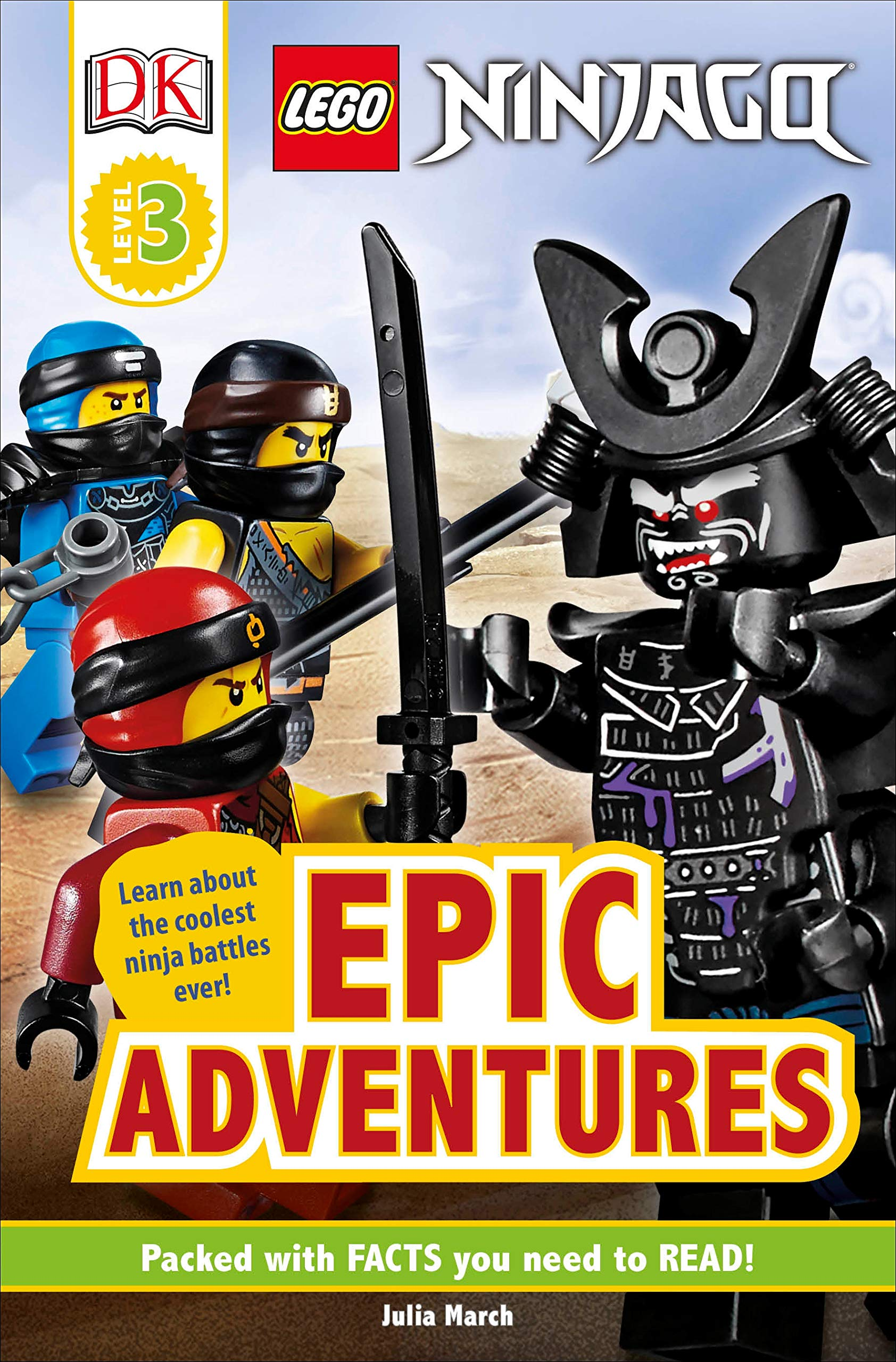 Amazon.com: DK Readers Level 3: LEGO NINJAGO: Epic ...