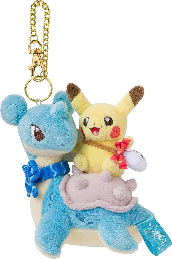 Gacha Pokemon Rubber Keychain Lapras