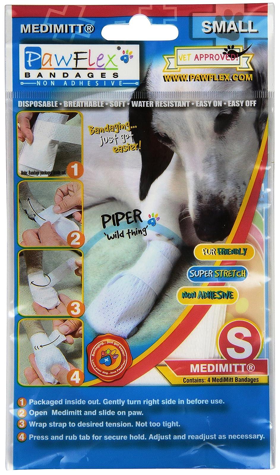 Pawflex Bandages Medimitt BandagesPets (Pack of 4) ROM003 - 1