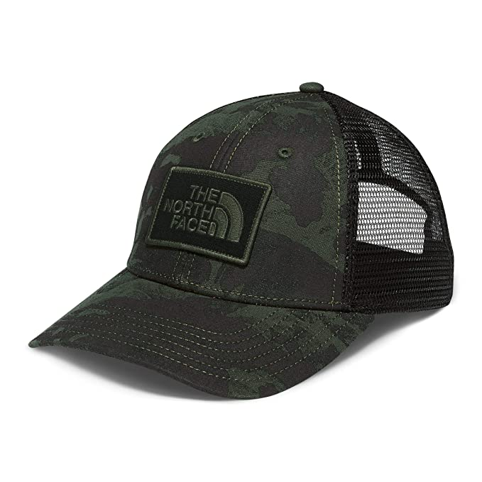THE NORTH FACE Printed Mudder Trucker Hat New Taupe Green Tropical Camo  Print - OS 6e7be9c906c