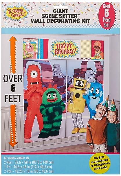 Yo Gabba Gabba Party Scene Setter Gorgeous Yo Gabba Gabba Bedroom Decor