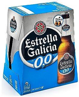 Estrella Galicia Cerveza sin Alcohol - Paquete de 6 x 250 ml - Total: 1500