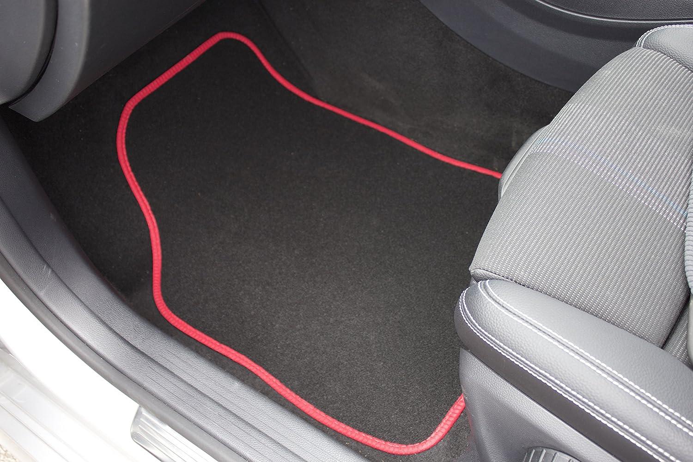 Tapis /à talon Coutures de couleur Grise Safe Travel 27601 Tapis de sol universels pour v/éhicules /à conduite /à gauche