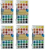 Artists Loft Fundamentals Watercolor Pan Set, lfwLVL 5 Pack(36 Colors)